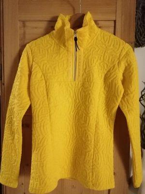 Icepeak Maglione con cappuccio giallo