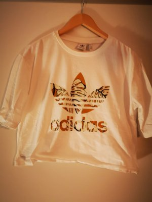 Adidas Cropped Shirt white