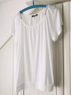 Passport Boatneck Shirt white
