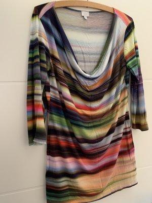 Alba Moda Maglia con scollo a cappuccio multicolore