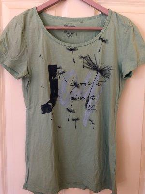 17&co Shirt met print grijs-groen-leigrijs