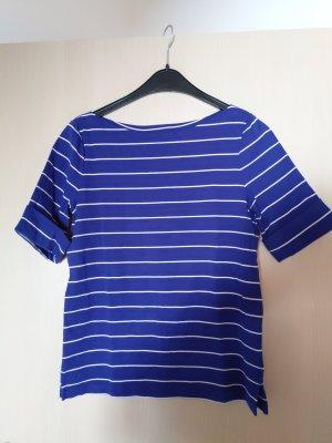Lauren by Ralph Lauren T-shirt rayé blanc-bleu