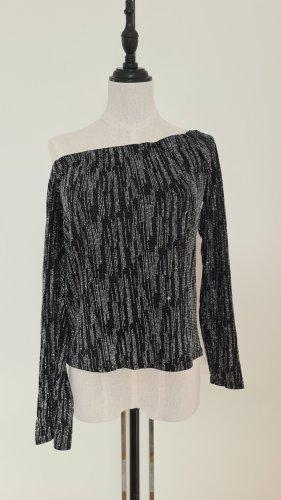 Peek & Cloppenburg Koszulka na jedno ramię czarny