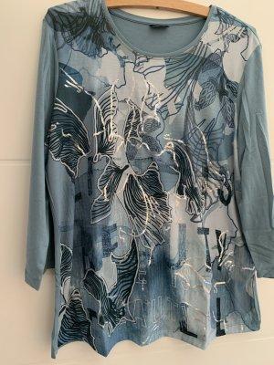 BARBARA LEBEK Shirt met print leigrijs