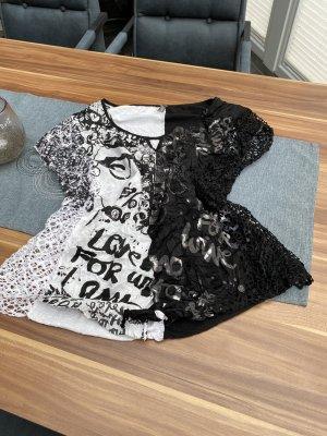 Tredy T-Shirt black-white