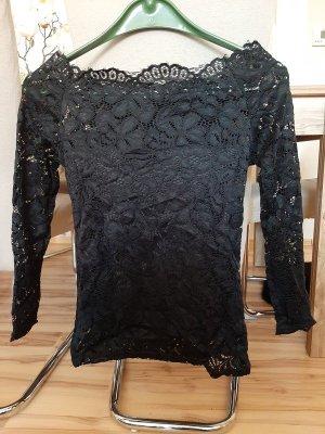 Cardigan long noir polyester