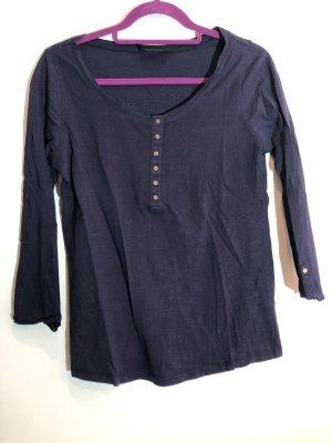 Shirt dunkelblau, Gr. 40, Gina