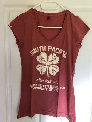 Shirt dunkelrosa