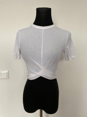 H&M Maglietta aderente bianco