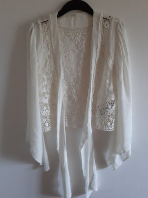 Guess Mesh Shirt natural white