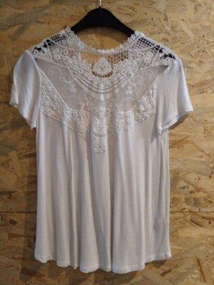 Bershka T-shirt blanc