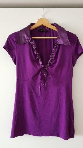 Melrose V-Neck Shirt lilac