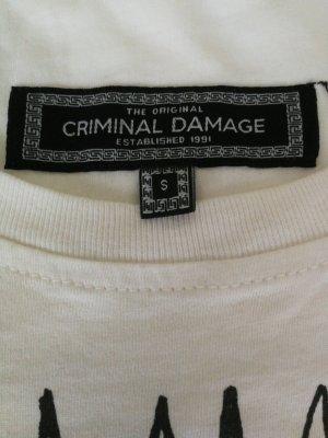 Criminal Damage Print Shirt multicolored