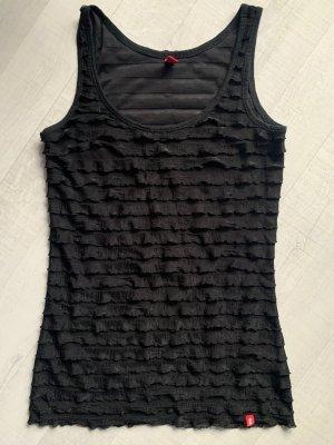edc Netshirt zwart