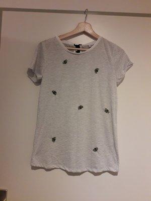 NOCOZO Stripe Shirt white