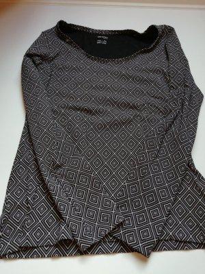 Bluza dresowa czarny-szary