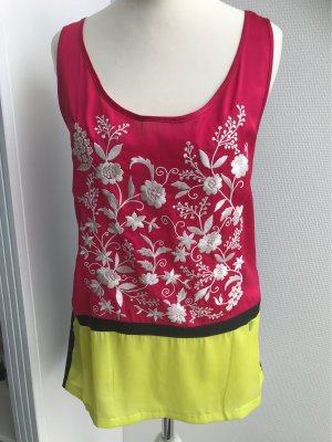 Twin-Set Simona Barbieri Long Shirt pink-black