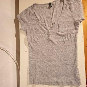 Madonna Chemise côtelée gris clair