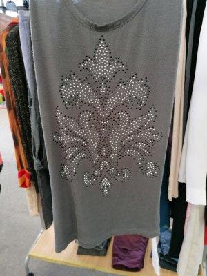 Ann Christine Shirt Tunic grey