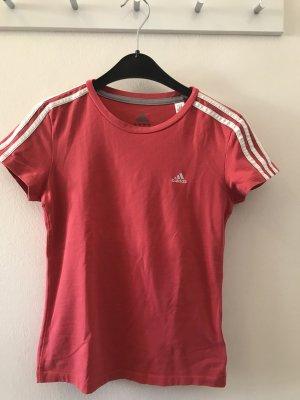 Adidas Camisa deportiva blanco-rojo claro