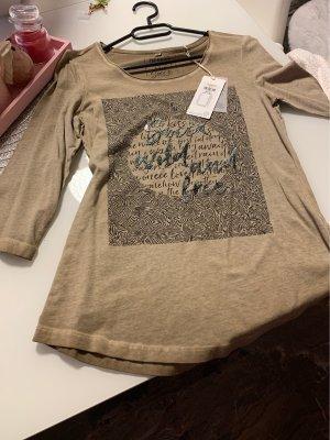 Soccx Boatneck Shirt beige