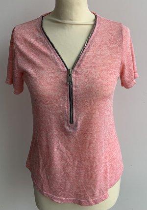Shirt // Feinstrick // rosa