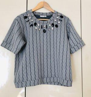 Fransa Oversized Shirt grey