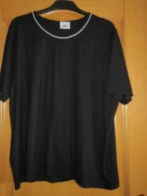 Shirt, Gala-Shirt, sehr schick, elegant, Gr.44/46, schwarz
