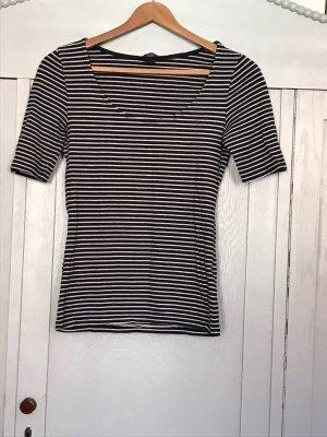 Shirt gestreift Kurzarm