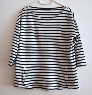 Shirt gestreift von Betty Barcley marine-weiß Gr.40