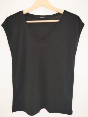 Shirt Glitzer schwarz Only