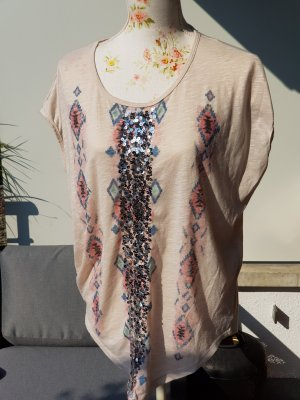 Papillonne T-Shirt multicolored