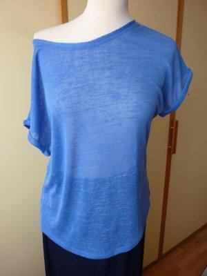Unbekannte Marke Camisa de un solo hombro multicolor