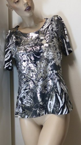 Shirt, Gr. 38(40), metallic, neu