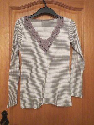 Stripe Shirt white-beige