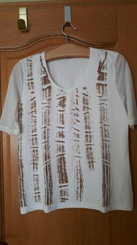 Shirt, Gr.40/42, Kurzarm, weiß