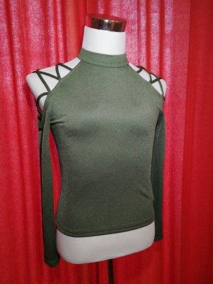 Shirt Gr. 40 mit raffinierter Schulter