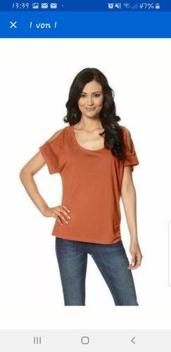 Chillytime Camicia a tunica arancione