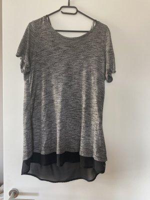 Shirt grau schwarz L