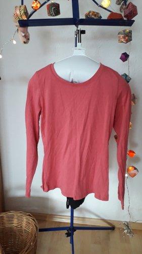 Boden Longsleeve raspberry-red-pink cotton