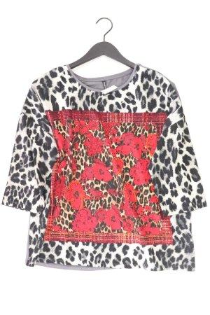 Shirt Größe L mit Tierdruck grau aus Viskose
