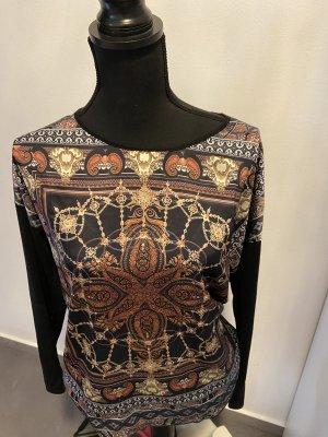 Shirt Größe M/L in schwarz mit Muster