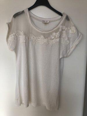 Shirt Größe S mesh weiß