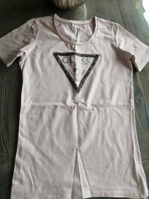 Guess Sports Shirt silver-colored-pink