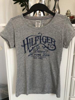 Shirt / hellgrau / Gr. S / Tommy Hilfiger