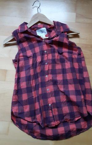 Shirt Hemd von H&M Gr.S blau rot