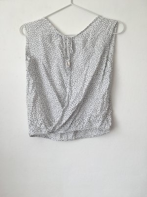 Bershka T-shirt noir-blanc