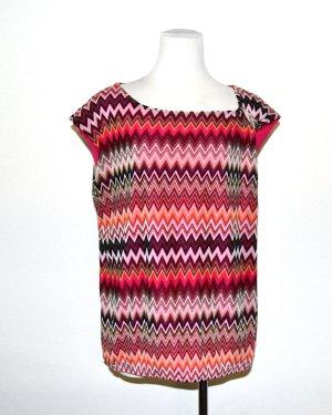 Ana Alcazar T-shirt imprimé multicolore polyester