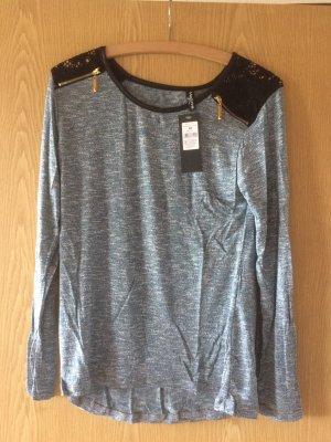 Shirt in blau grün Größe m