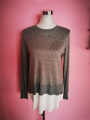 Shirt in grau/weiß (T 3)